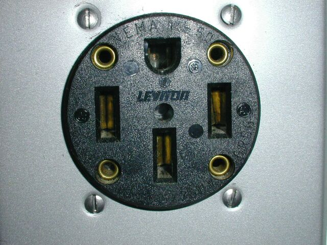 50 Amp Cord Cap    Connector On The Gateway